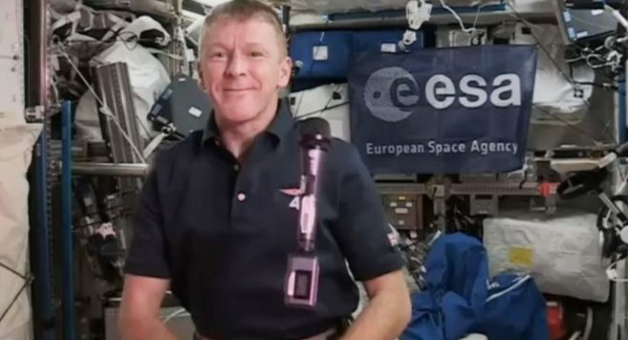 Space Station Astronaut Dials Wrong Number