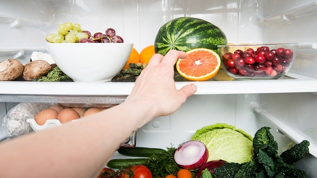 Move Healthier Foods to the Middle Shelf in Your Fridge