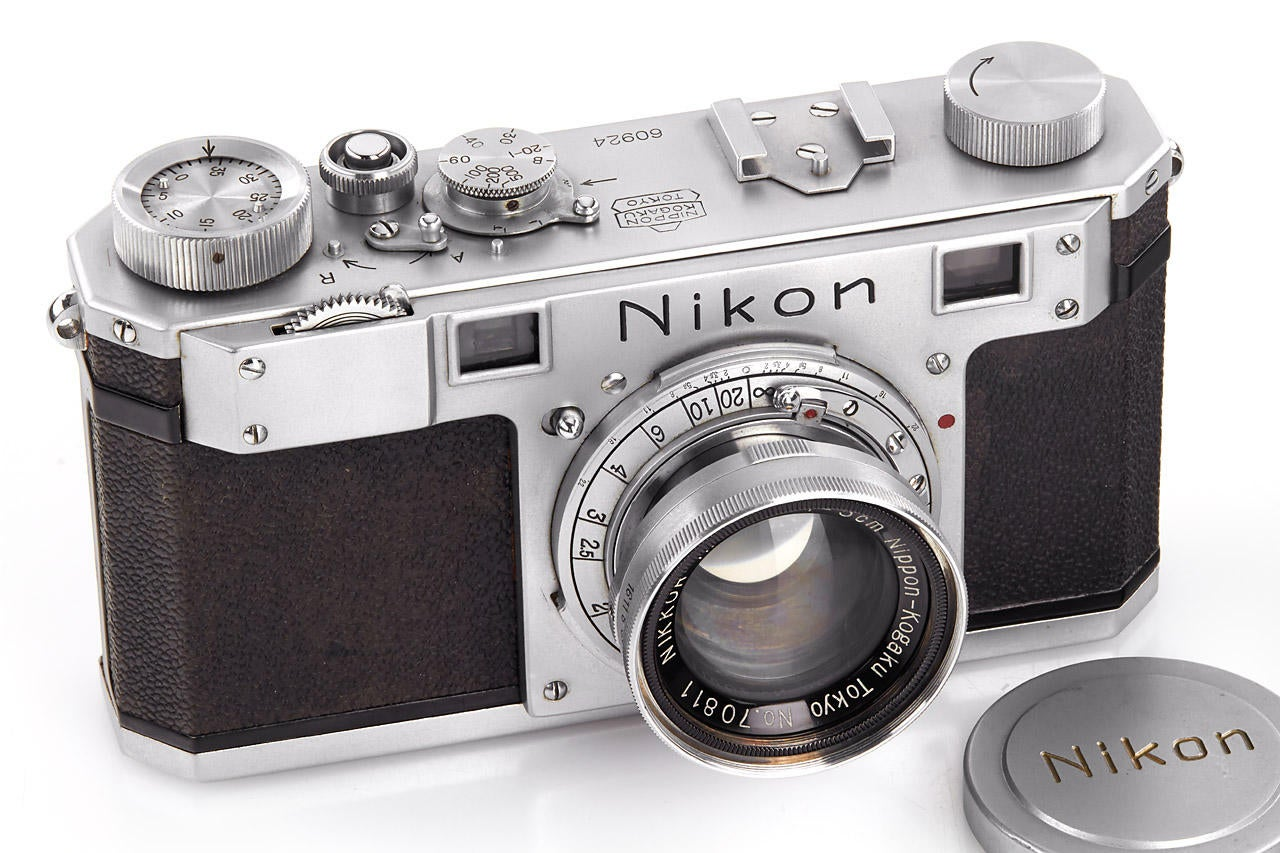 The Third Nikon Camera Ever Built Just Sold For $551,000 In Auction