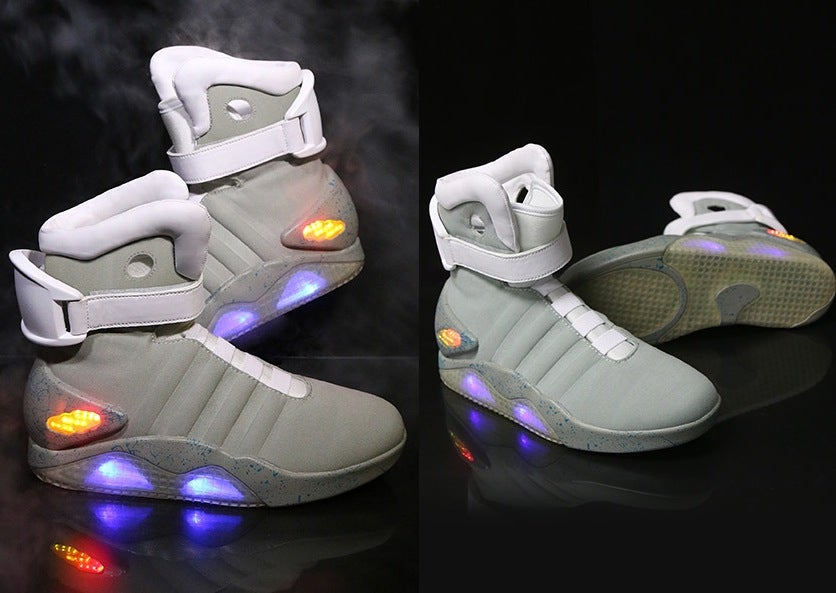 Try These Nike Knockoffs for Your Back to the Future Halloween Costume