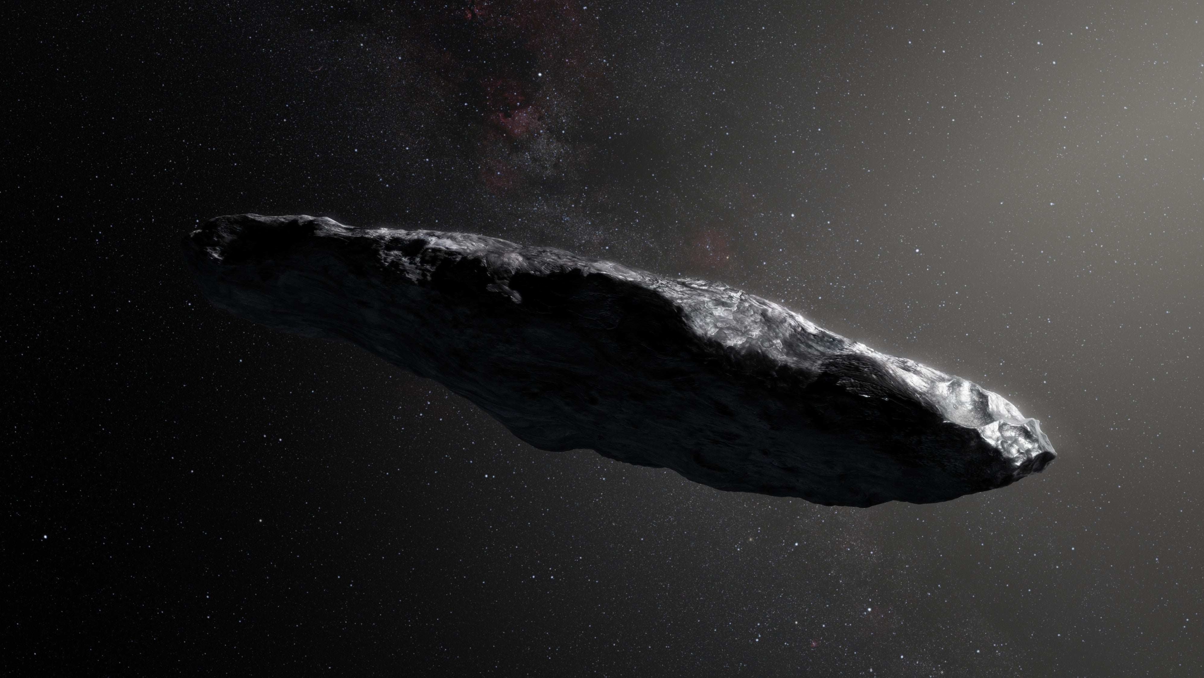 Study Finds Weird Interstellar Object 'Oumuamua Is Indeed A Smol Boi