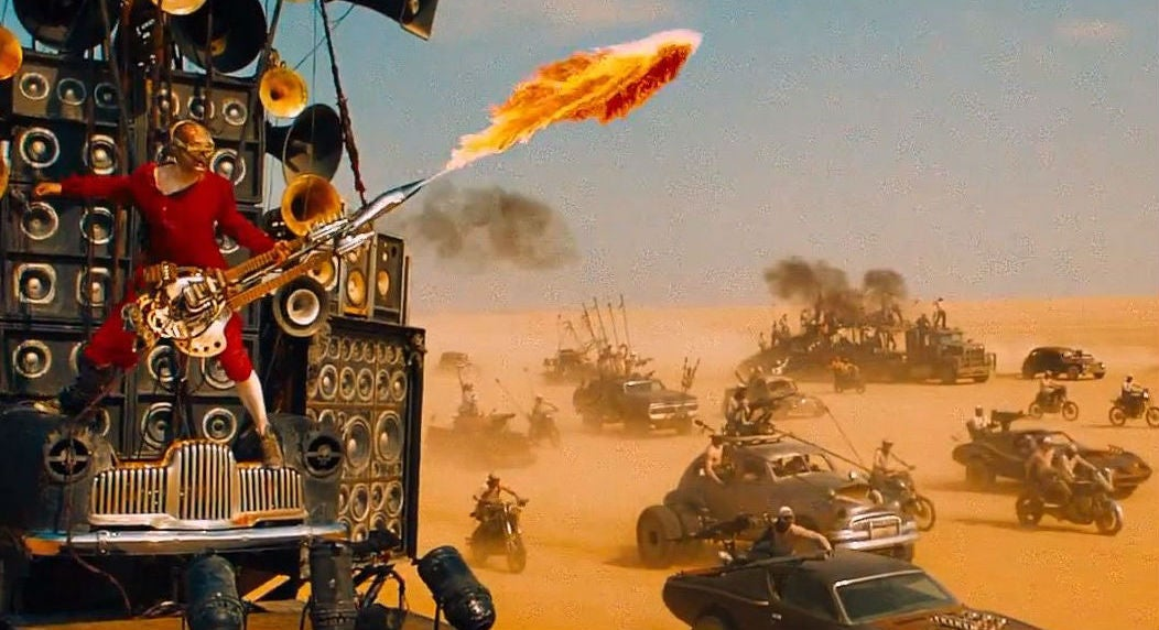 You May Never See A Better Video Than Mad Max: Fury Road Without Special Effects