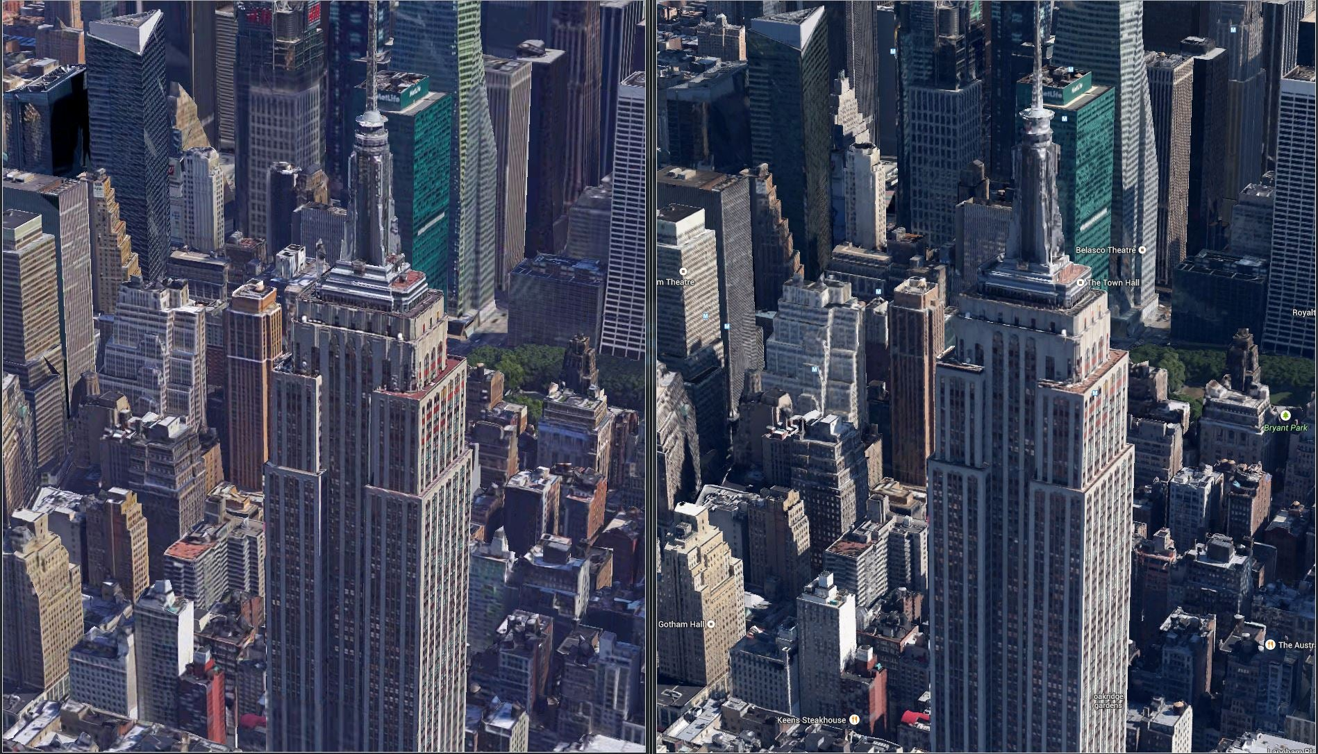 Google Earth's New Satellite Imagery Is So Much Better