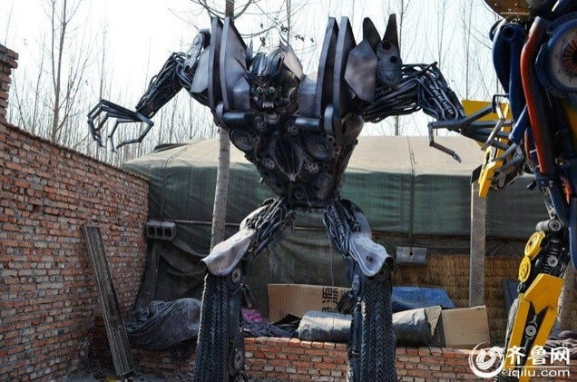 More Chinese Transformers Made from Trash