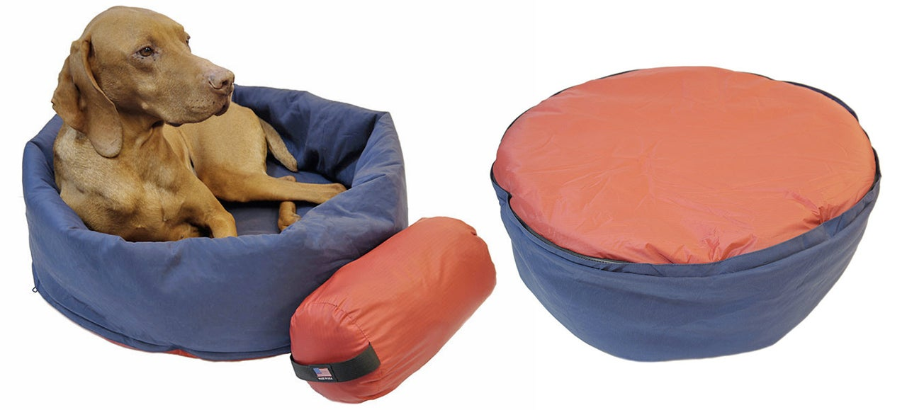 A Sleeping Bag Designed Just For Man's Best Friend