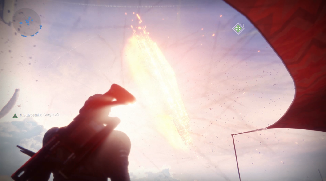 Giant Space Ship Blows Up Very Slowly In Destiny 2's First Major Live Event