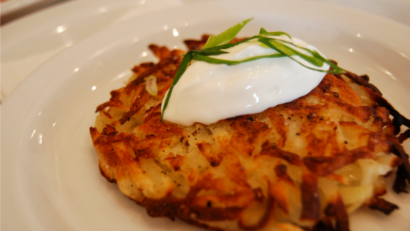 Jazz Up Frozen Hash Browns by Transforming Them Into Crab Cakes
