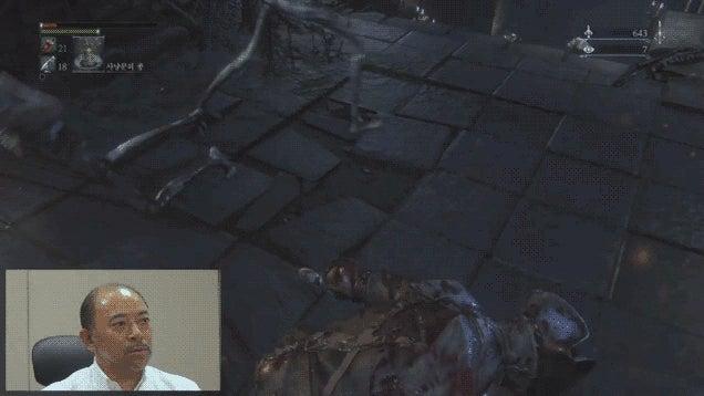 Sony Exec Dies a Bunch in Bloodborne