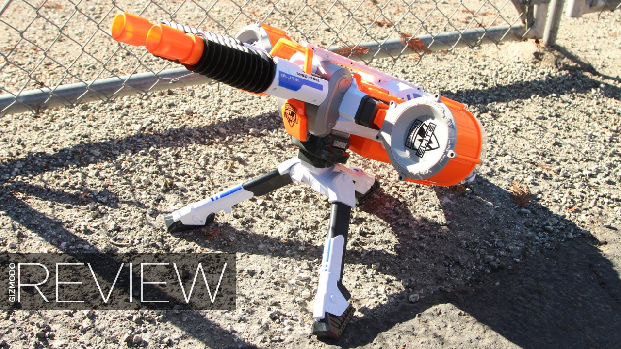 Nerf Rhino-Fire Review: The Most Badass Foam Blaster Ever Built