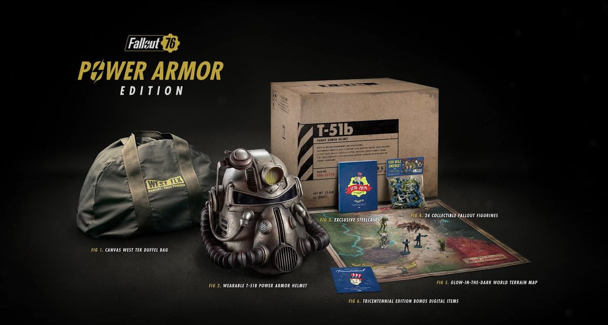 $300 Fallout 76 Edition Promised Fancy Bag, Delivers Nylon Trash