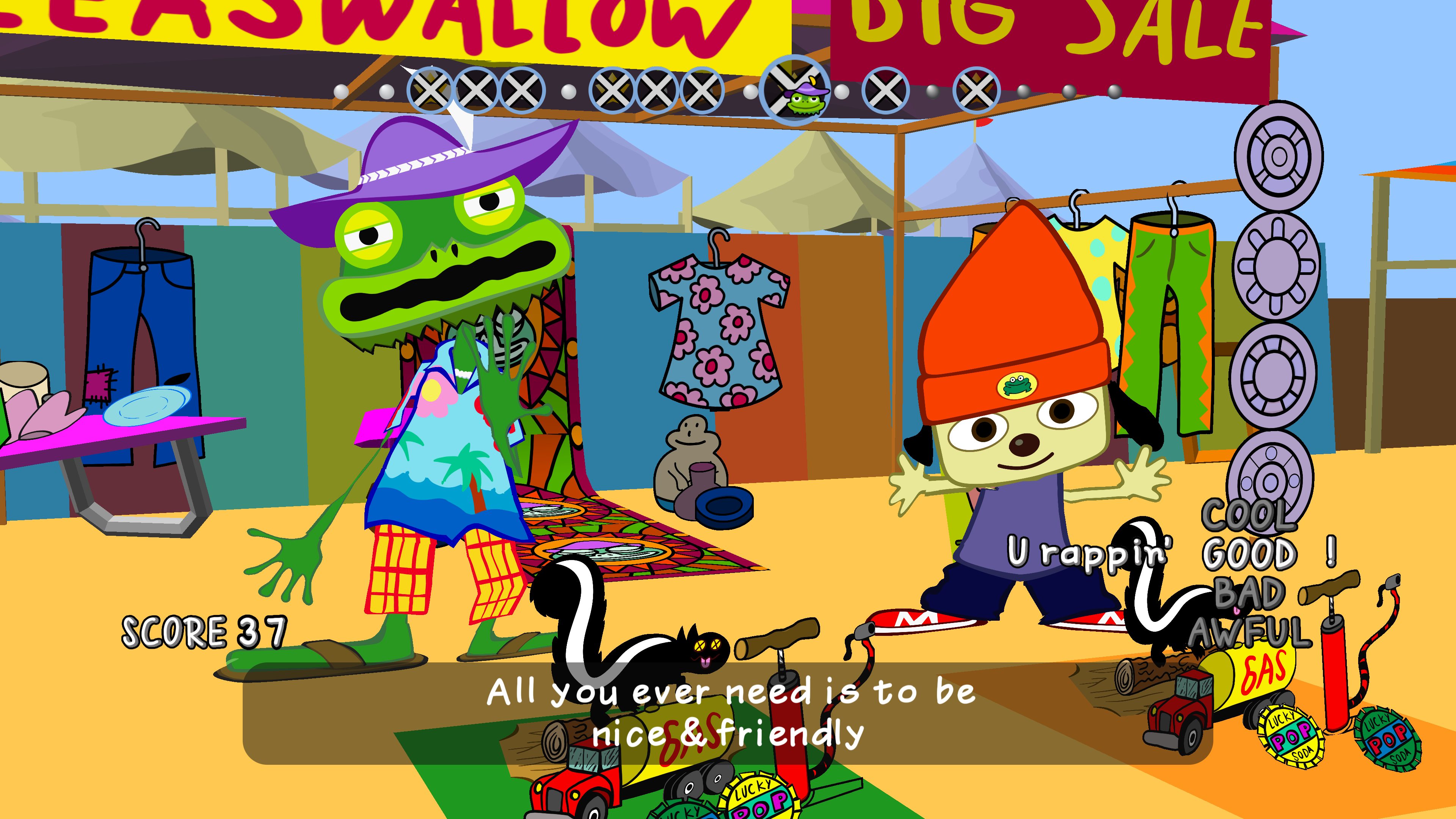We're So Happy Parappa The Rapper Is Back To Frustrate Us