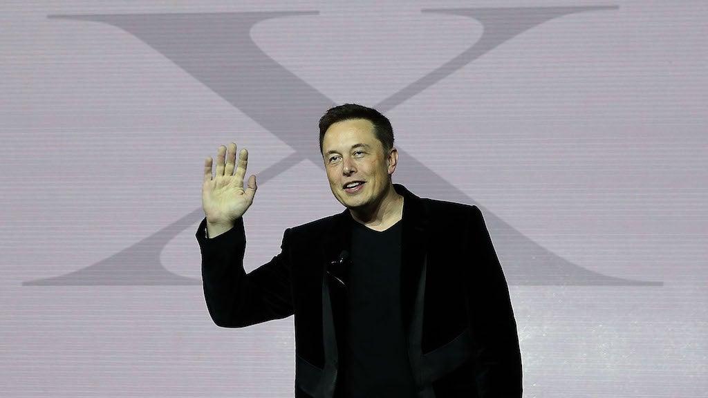 Elon Musk's Cryptic Art Suggests Unicorn Fart-Powered Teslas