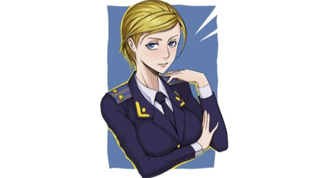 Crimea's Attorney General Spawns Anime Fan Art