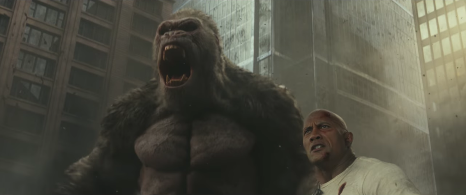 The Rampage Movie Is Stupid And Amazing