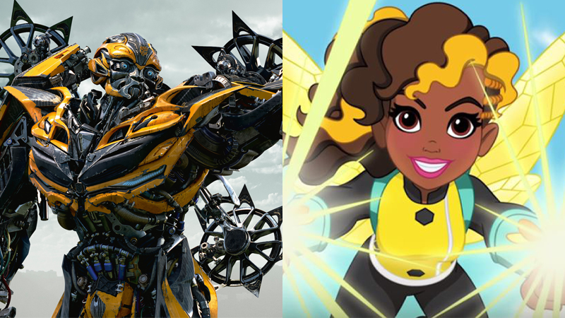 Hasbro Is Suing DC Comics Over The Bumblebee Name