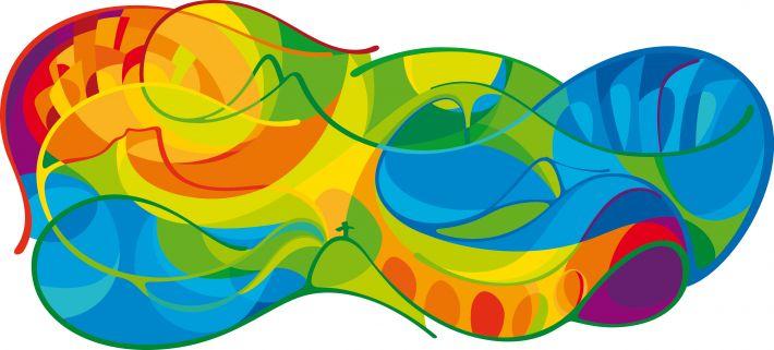 The New Branding For Rio 2016 Looks Like A Very Friendly Amoeba