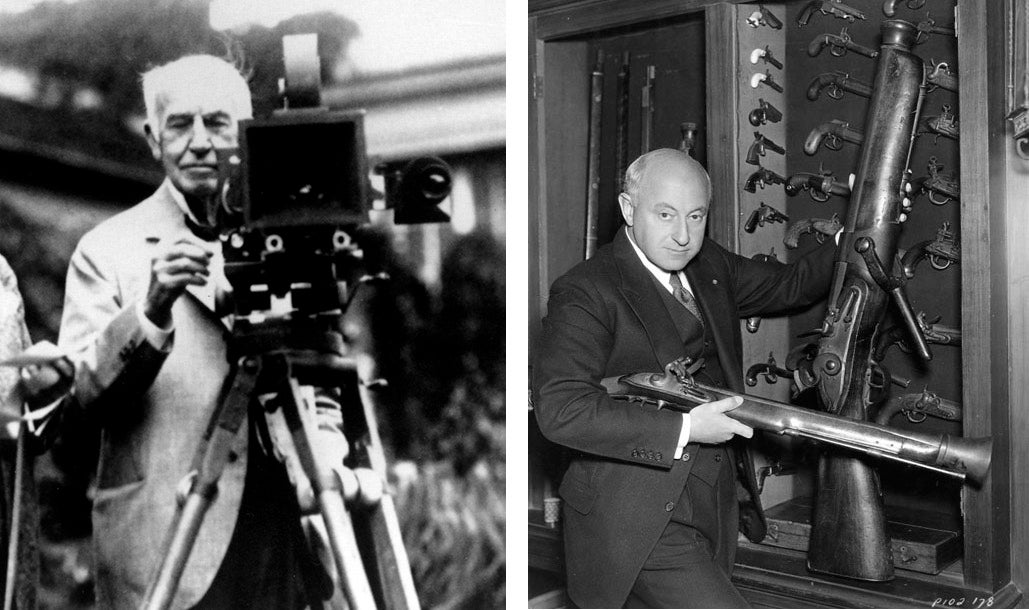 Cecil B. DeMille Kept a Wolf and Guns To Defend Against Edison's Thugs