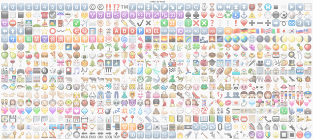 Cool Site Lets You Draw Pictures Using Emoji