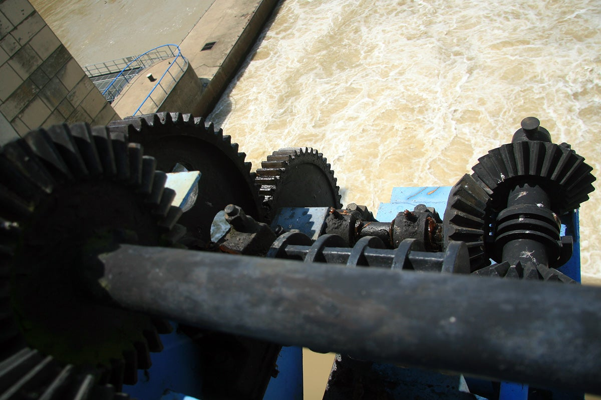 A Rare Look Deep Inside an Old-Fashioned Hydroelectric Power Plant