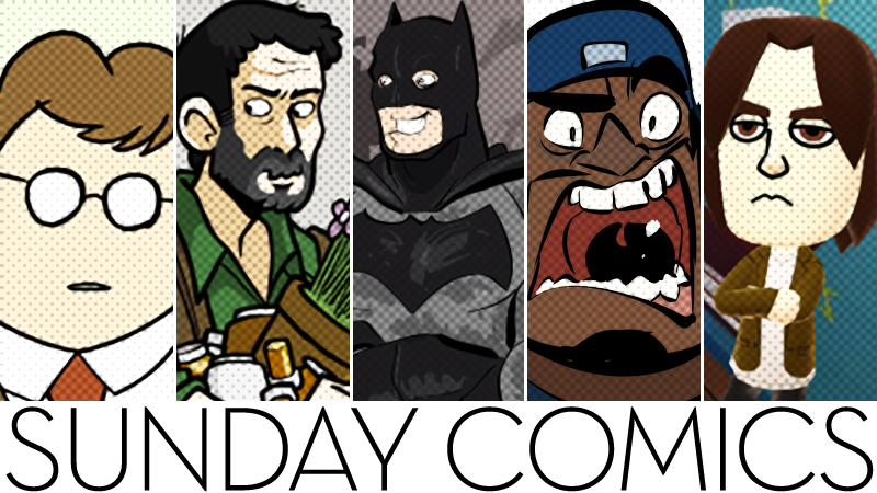 Sunday Comics: It's A Cave Filled With Bats