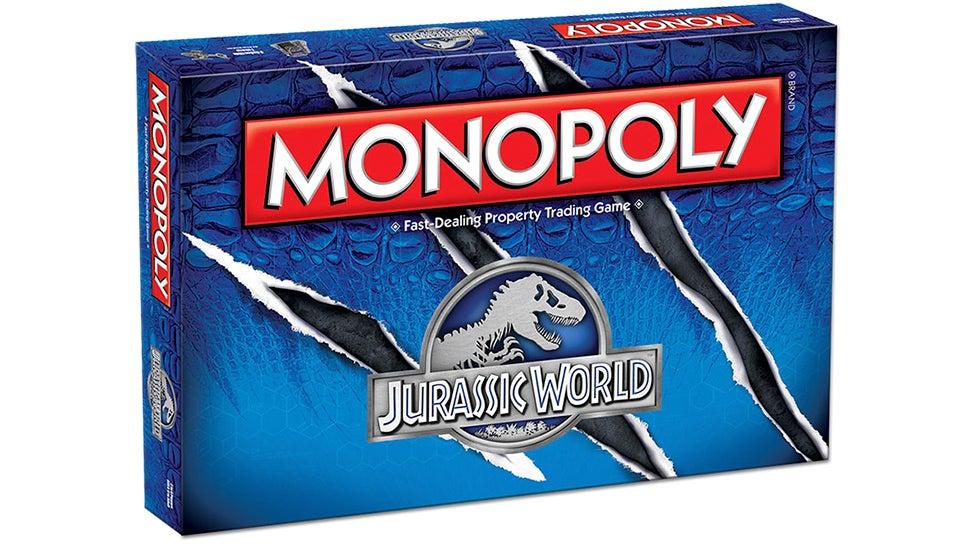 A T-Rex Skull Token Makes Jurassic World Monopoly the Best Version Yet