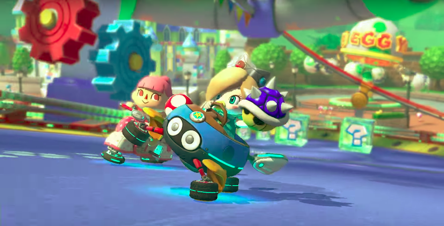 Either I'm Paranoid Or Mario Kart 8 Deluxe's AI Is Cheating