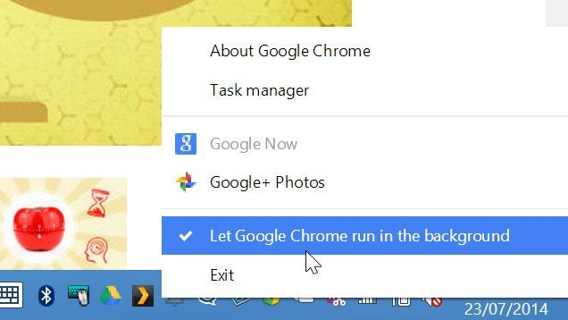 Stop Chrome from Running In the Background After You Close It