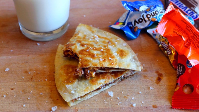 How To Make A Chocolate Quesadilla