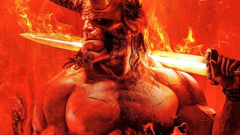 The First Taste Of The Hellboy Reboot Is Violent, Cheeky, And A Hell Of A Lot Of Fun