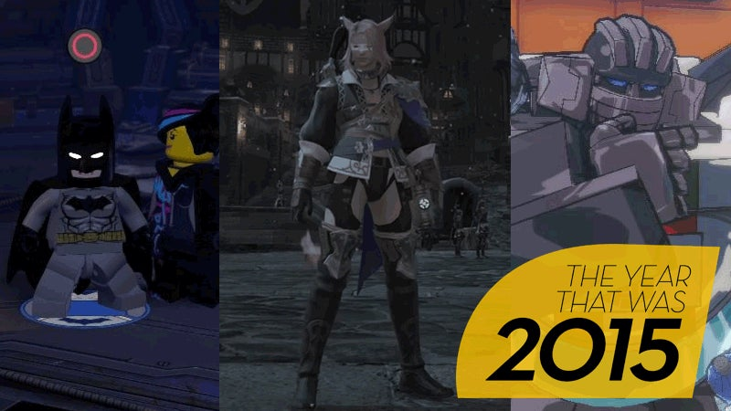 Fahey's Top 10 Games Of 2015