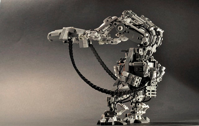The Matrix Exoskeleton In Lego