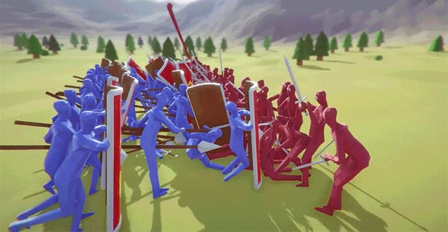 totally accurate battle simulator free play demo