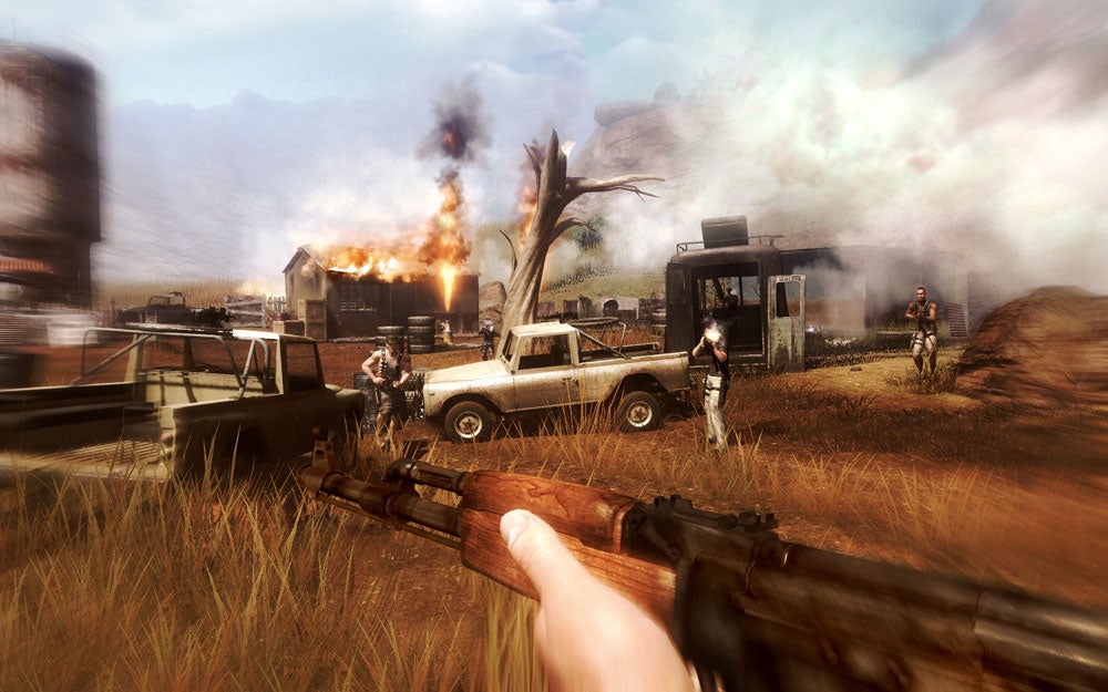 A Look Back At Far Cry 2 S Bleak Bummer Ending