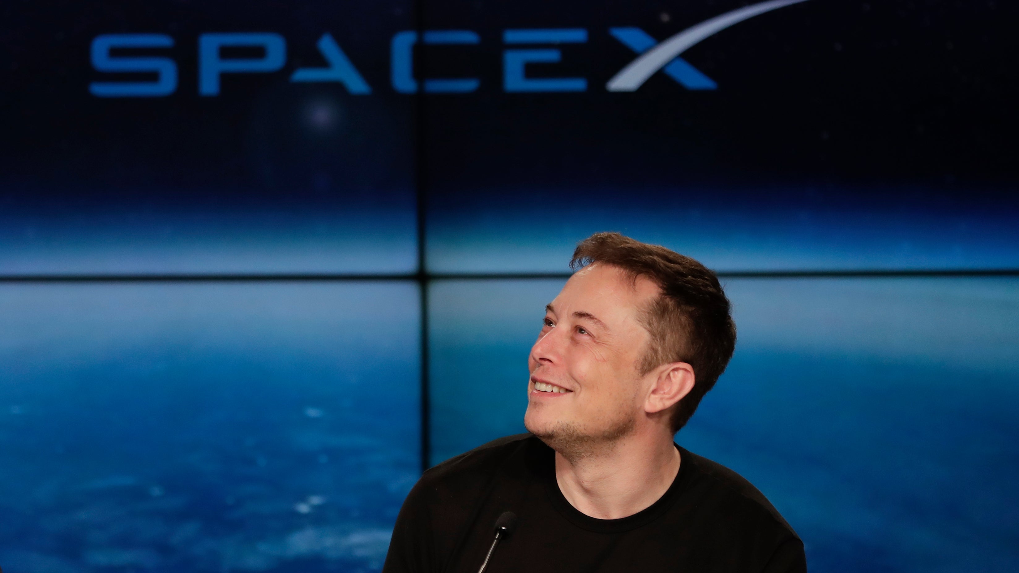 Report: Air Force Not Sure What To Do About Elon Musk Smoking Weed