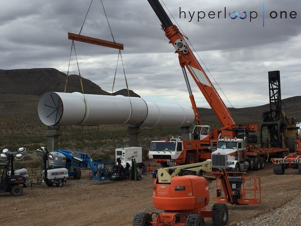 Here Is What Tomorrow's First Full-Scale Test Of The Hyperloop Will Look Like