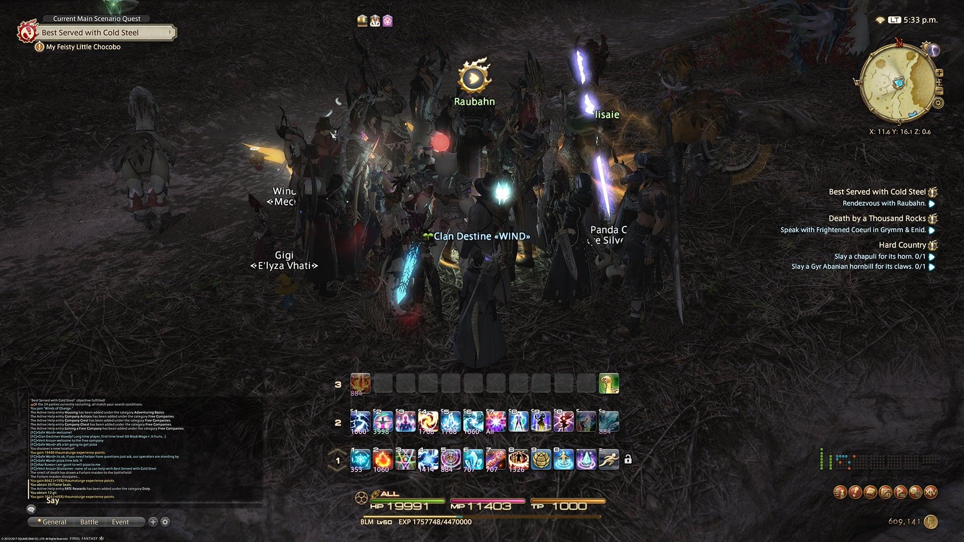 Final Fantasy XIV Stormblood Progress Report: Lost