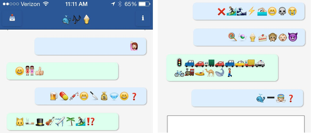 My Day on the Emoji-Only Social Network, Translated (I Think)