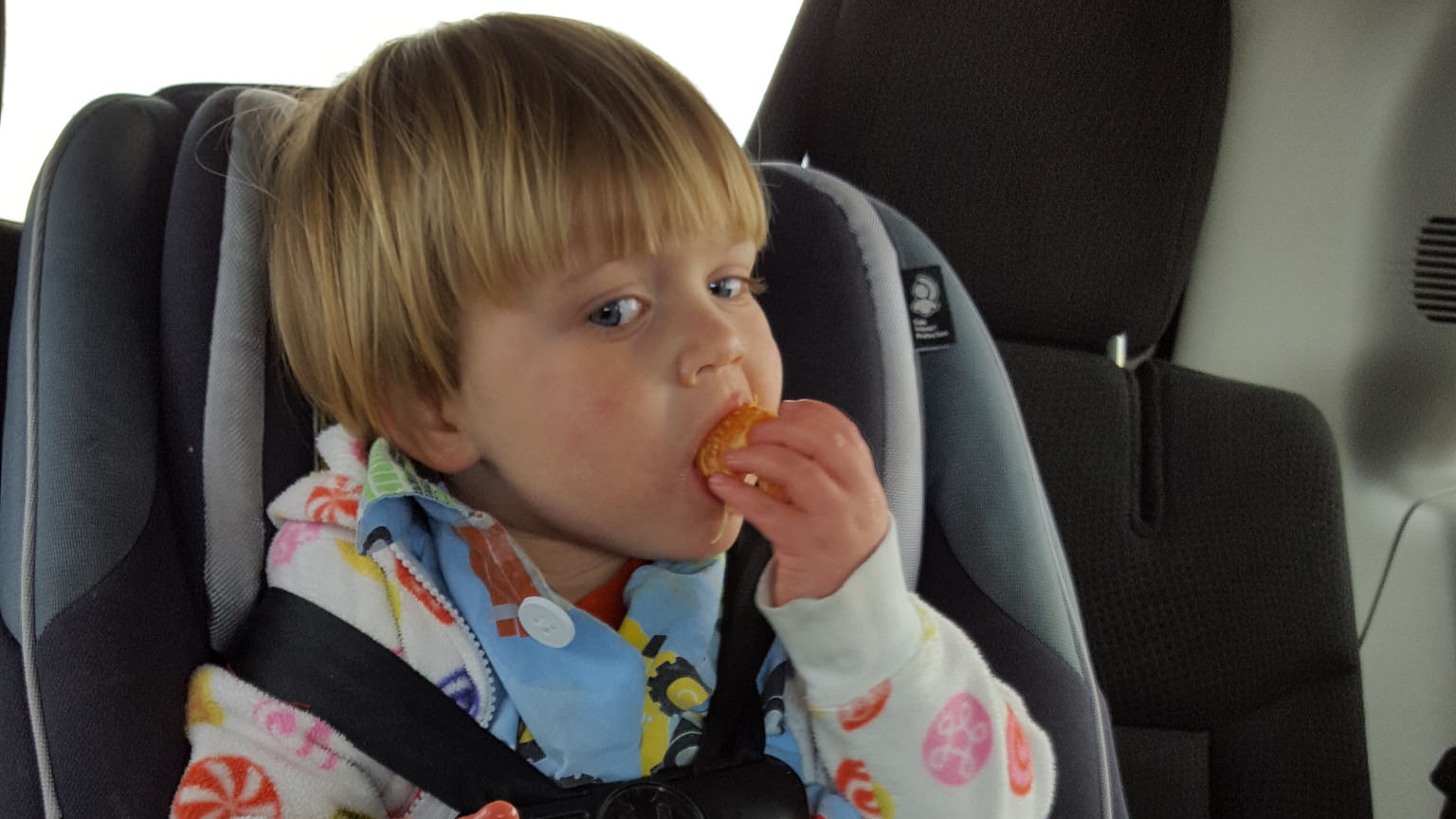 If Your Child's Car Seat Straps Are Loose, Look For Wayward Snacks