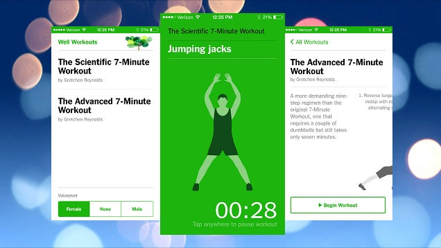 Get the Scientific 7-Minute Workout on Any Device with This Web App