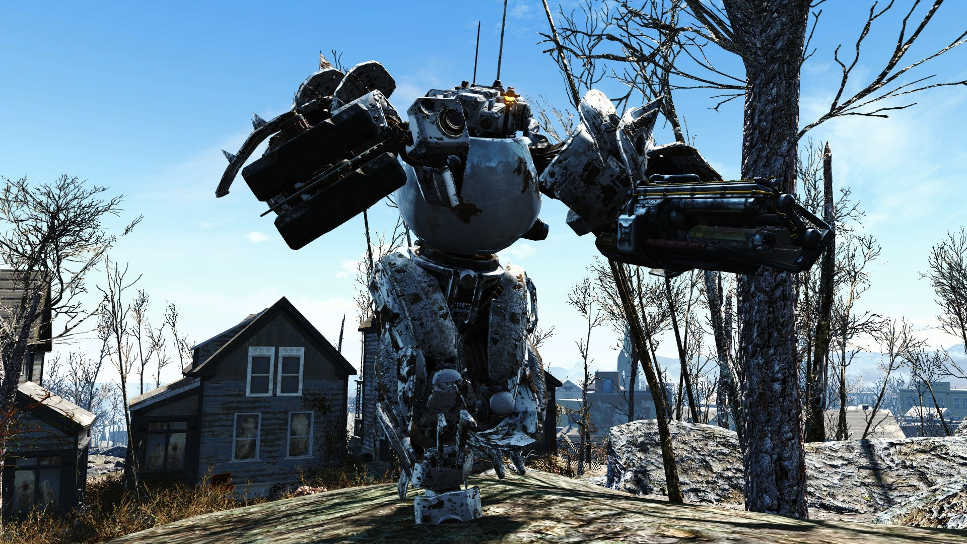 Fallout 4 players are turning codsworth into a monster in for Best house designs fallout 4