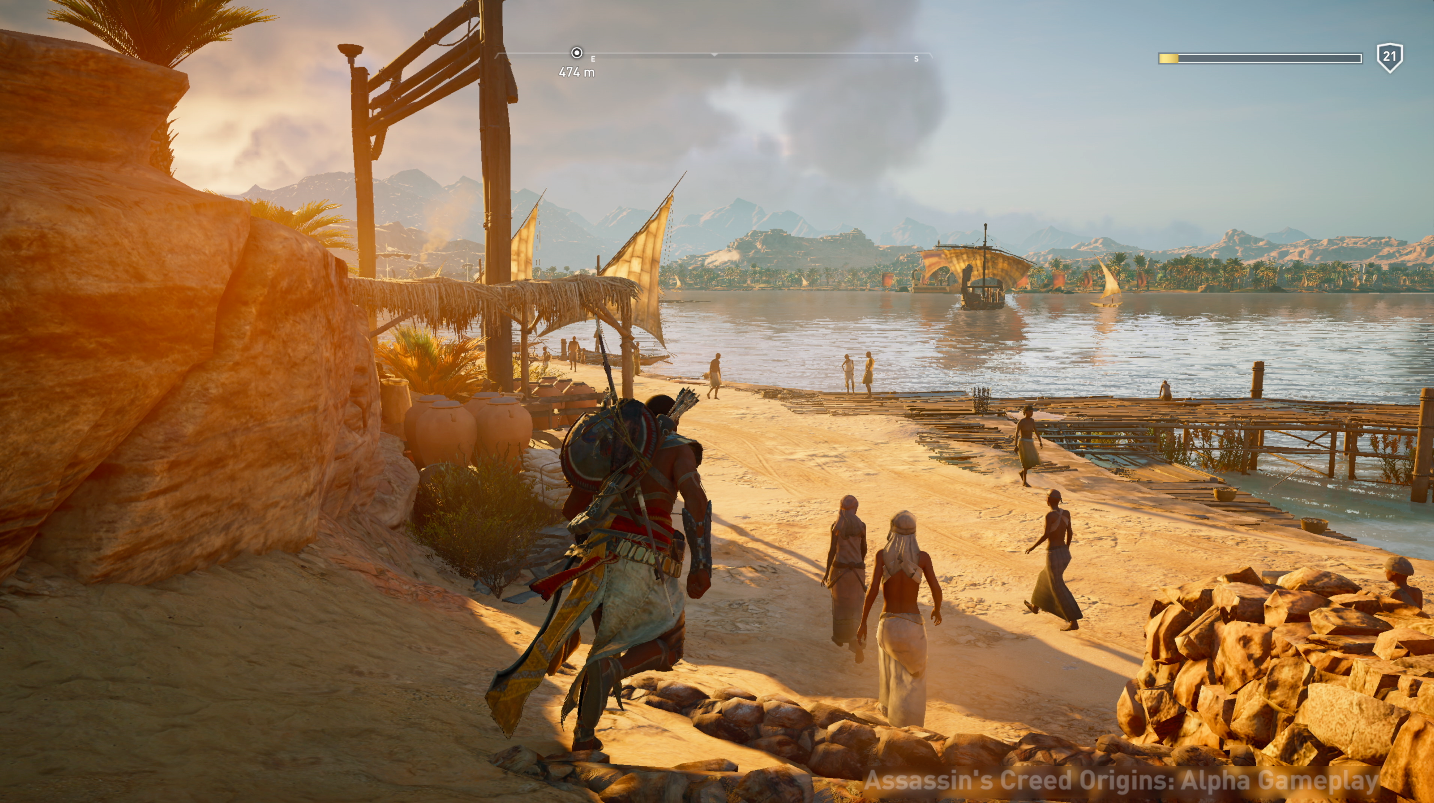 Assassin S Creed Origins New Mission System Sounds Like A Much