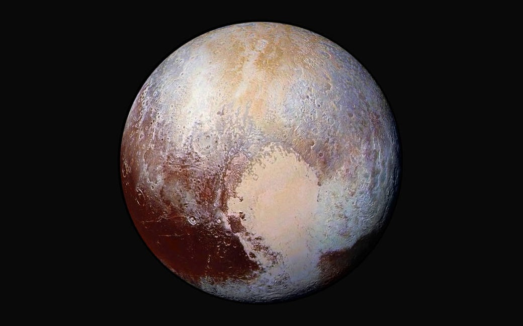 Pluto's Heavy Heart Made the Whole Planet Tip Over