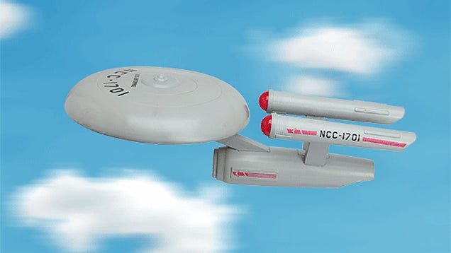 ThinkGeek's Made Its Flying U.S.S. Enterprise Frisbee Prank a Real Toy