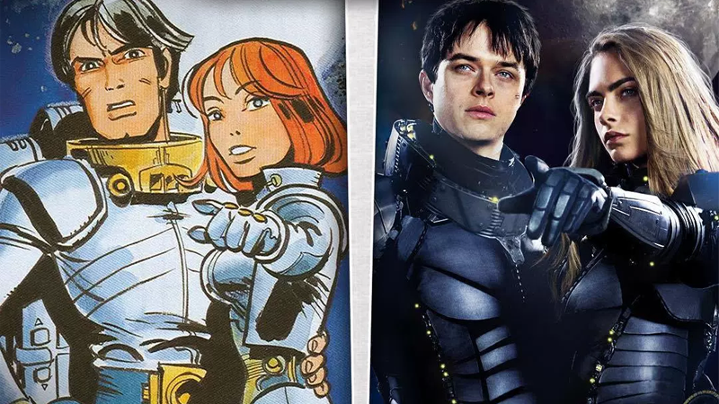 A Guide To The Epic Sci-Fi Movie Valérian, And The Fantastic European Comics That Inspired It