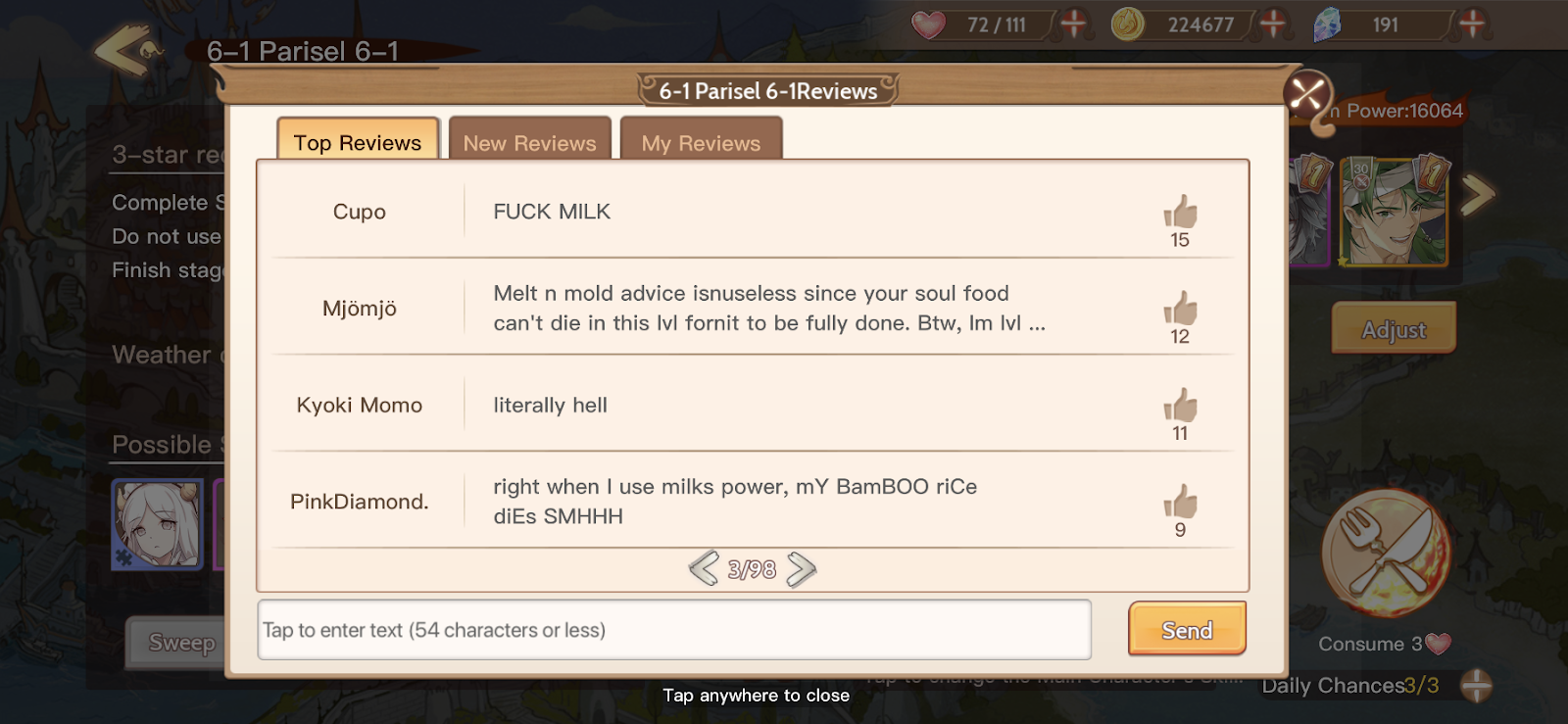 The Best Part Of This Horny Anime Food Game Is Connecting With Other