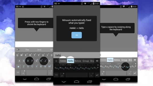 Minuum Keyboard Leaves Beta, Brings The Tiniest Keyboard To Your Phone