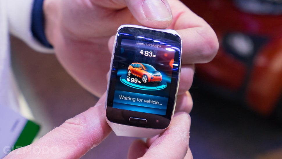 Driving a BMW Remotely With a Smartwatch Feels Preposterously Dangerous