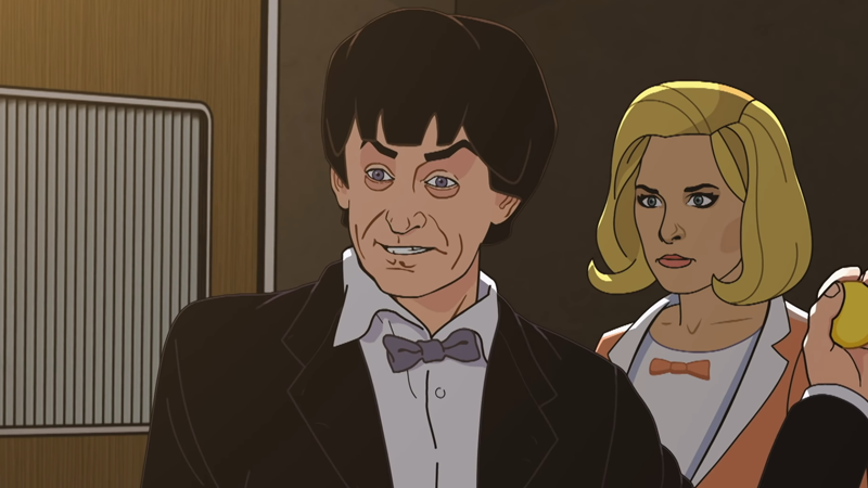 In The Haunting Trailer For Doctor Who's Next Animated Classic, Something's Taking The Youths