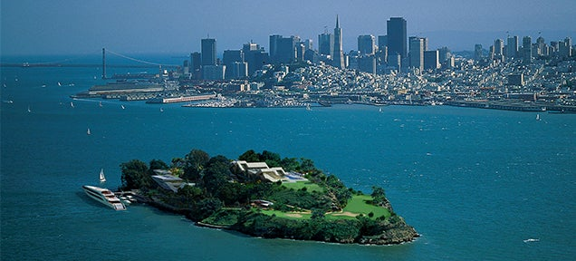 Alcatraz Reimagined As The Luxurious Lair Of A Tech Mogul