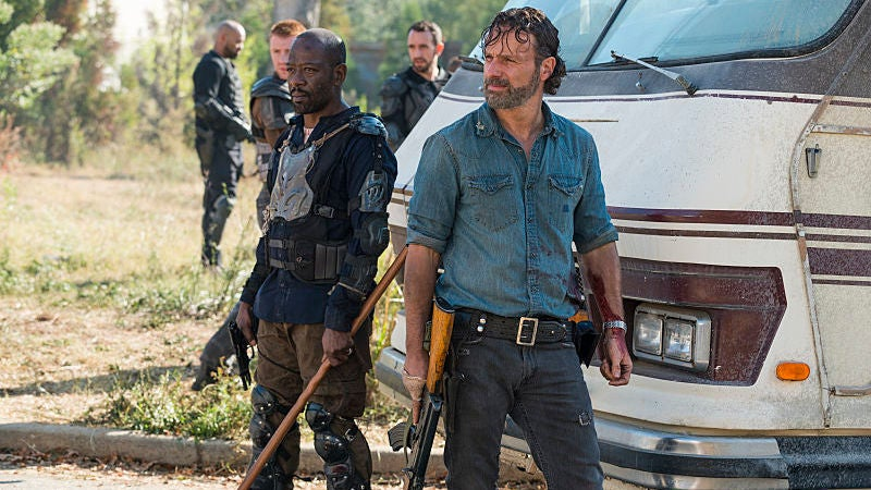 The Walking Dead And Fear The Walking Dead Will Be Crossing Over After All